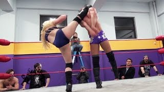 getlinkyoutube.com-[Free Match] JT Dunn vs. Kimber Lee - Beyond Wrestling #TFT2 (WSU, Mixed, Intergender)
