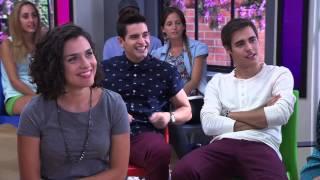 getlinkyoutube.com-Violetta 2 - Camila y Naty cantan Ven y Canta