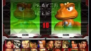 Tekken 3 ALL CHARACTERS - ePSXe