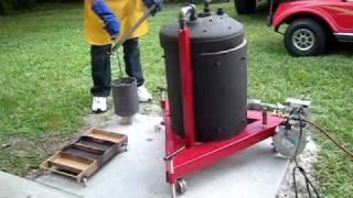getlinkyoutube.com-Home Foundry pouring ingots