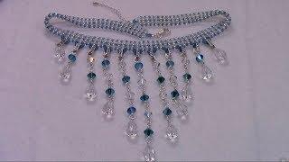 getlinkyoutube.com-Handmade Jewelry: Falling Tears Necklace Part 1 of 2