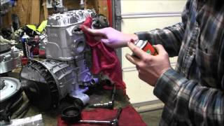 getlinkyoutube.com-Skidoo Rev 800 clean power valves Episode 9