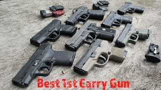 getlinkyoutube.com-Best Gun For Your 1st Carry Gun & Ones To Stay Away From!