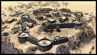 Epic ANZAC Fort Defense - Battle of Tobruk | Men of War Assault Squad 2 Mod Gameplay