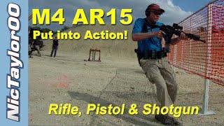 getlinkyoutube.com-M4 AR-15 Into The Action - Epic 3 Gun Stage1