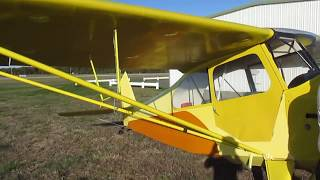 getlinkyoutube.com-1946 Aeronca 7AC Classic Airplane For Sale~Delivered With New Annual~Original Conditon~Ready To Fly