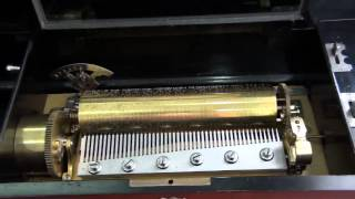 getlinkyoutube.com-Antique swiss music box 10 tunes