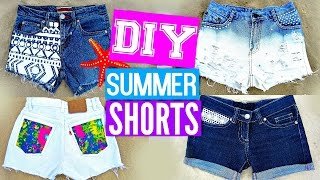 DIY Shorts from Jeans | EASY DIY Clothes for Summer