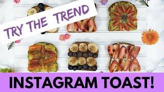 getlinkyoutube.com-How to Make EPIC Instagram-Worthy Toast (TRY THE TREND)