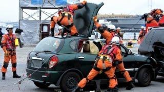 getlinkyoutube.com-【横浜消防】消防総合訓練 横浜消防出初式2017
