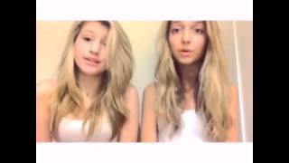 Hana Hayes and Brooke Sorenson singing !!!!!! sooo good wow !!!