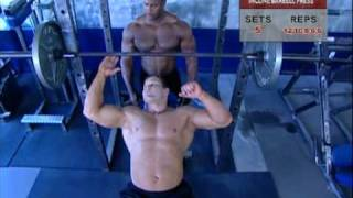 getlinkyoutube.com-Muscle & Fitness - Chest and shoulders - Part 2