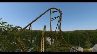 getlinkyoutube.com-No Limits 2 - Mountain Screamer (Intamin Blitz Coaster) 60fps