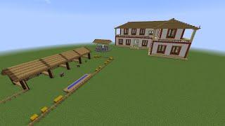 getlinkyoutube.com-Minecraft Como Fazer uma Fazenda Simples