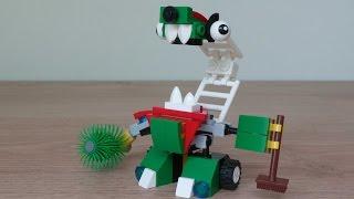 getlinkyoutube.com-LEGO MIXELS SWEEPZ HYDRO MIX or MURP? Instructions Lego 41573 Lego 41565