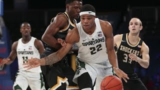 Miles Bridges - Michigan State Highlights 2017