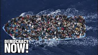 getlinkyoutube.com-WikiLeaks' Julian Assange on Europe's Secret Plan for Military Force on Refugee Boats from Libya