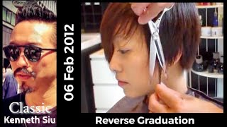 Kenneth Siu - Reverse Graduation Cut