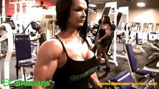 getlinkyoutube.com-Nicole Ball Training at Arnold Classic