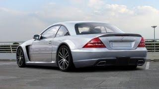 getlinkyoutube.com-Mercedes CL W215 - Tuning - Black Edition Body kit