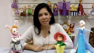 Equipo de Porcelana Fria Paso a Paso: Marisol
