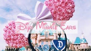 getlinkyoutube.com-DIY: Floral Minnie Ears