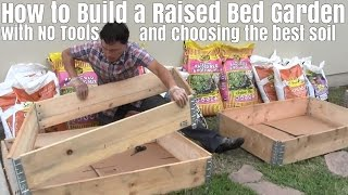 getlinkyoutube.com-How to Build a Raised Bed Garden with No Tools & Choose the Best Soil
