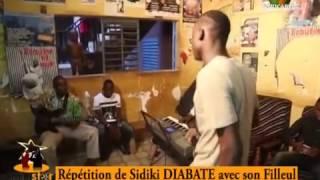 Ministar Mali 2016 Quotidien Répétition de Sidiki DIABATE avec son filleule