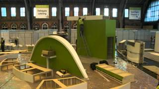 getlinkyoutube.com-How to build a 150sqm exhibition stand in under 15 hours
