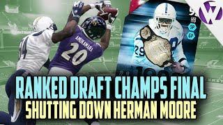 getlinkyoutube.com-Madden 16 RANKED DRAFT CHAMPIONS FINAL - SHUTTING DOWN HERMAN MOORE - RANKED DRAFT REWARDS OPENING