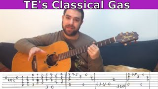 getlinkyoutube.com-Tutorial: Classical Gas (Tommy Emmanuel) - Guitar Lesson w/ TAB