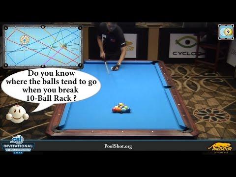 10-Ball Break Secret Revealed - Analysis by PoolShot.org - Pool & Billiard Training Lesson