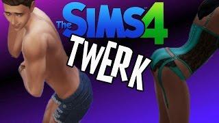 getlinkyoutube.com-The Sims 4 TWERKING Hunger Games! (Twerking Mod)
