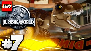 LEGO Jurassic World - PARTE 7 - JURASSIC PARK FIM! (Gameplay HD)