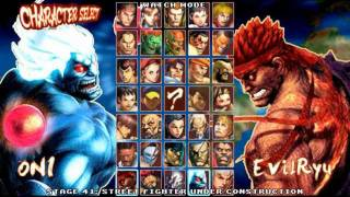 getlinkyoutube.com-SUPER STREET FIGHTER IV MUGEN EDITION [ONI!?]