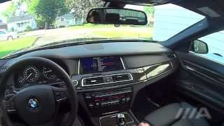 getlinkyoutube.com-BMW 740Li 2013 brief tour and night driving