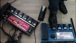 getlinkyoutube.com-How to use GR-55 & RC-300 as a powerful live looping setup