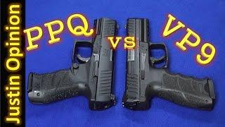getlinkyoutube.com-HK VP9 vs Walther PPQ