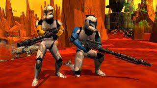 getlinkyoutube.com-Star Wars Battlefront 2 Mods: Geonosis - The real battle