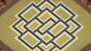 getlinkyoutube.com-Aldea Guerra ANTI 3 ESTRELLAS | TH9 | Ayuntamiento 9 | Diseño de Aldeas | 2016 | byGenesys