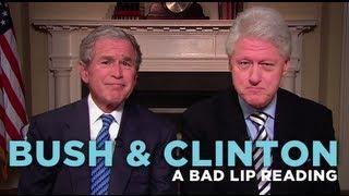 "getlinkyoutube.com-""Bush & Clinton"" — A Bad Lip Reading Soundbite"