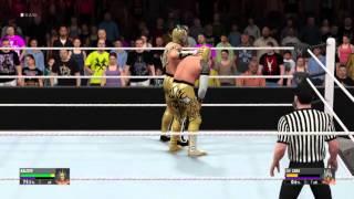 getlinkyoutube.com-WWE 2K16 Sin Cara vs Kalisto Extreme Rules PS4 [HD]