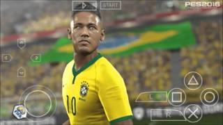 getlinkyoutube.com-PES 16 - PPSSPP #GamePlay
