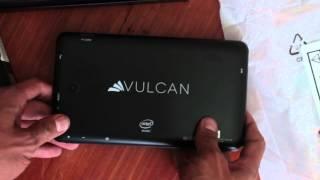 Unboxing Tablet Vulcan Caravan con windows 8.1 México