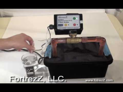 Fortrezz Water Valve Demo 2 Full Length.avi