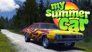 getlinkyoutube.com-My Summer Car - Stealing A Muscle Car! - Drunken Road Rage - My Summer Car Gameplay Highlights