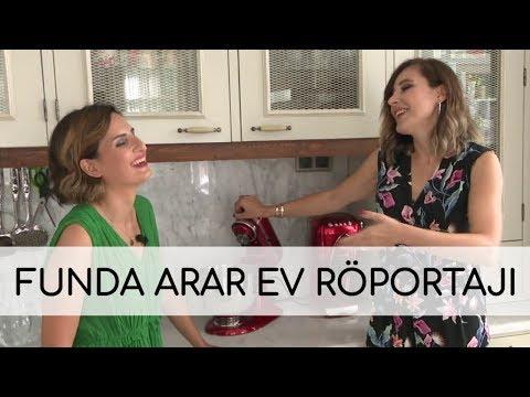 Funda Arar ile evinde çok özel röportaj
