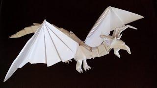 getlinkyoutube.com-Как сделать дракона оригами, dragon origami (Tadashi Mori)
