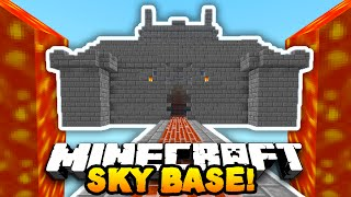 getlinkyoutube.com-Minecraft DEFENDING THE SKY BASE! (4v50 FAN BATTLE!) w/PrestonPlayz & The Pack!