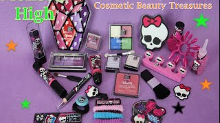 getlinkyoutube.com-Monster High: Advent Beauty Calendar Cosmetic Beauty Treasures
